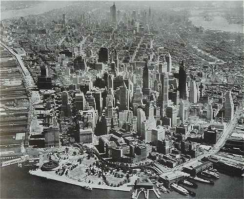New-York vers 1950