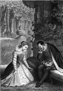 La rencontre entre la princesse de cleves et monsieur de nemours