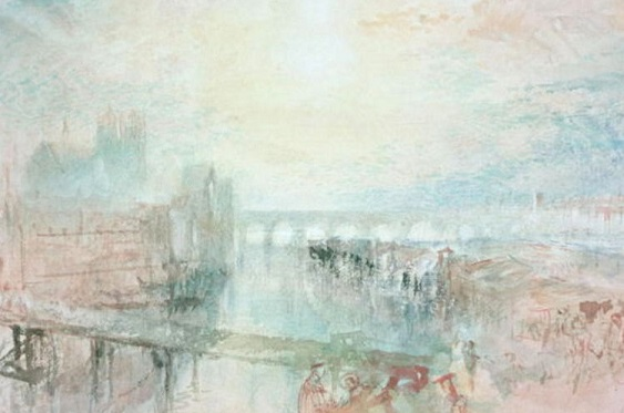 View of Lyons - William Turner